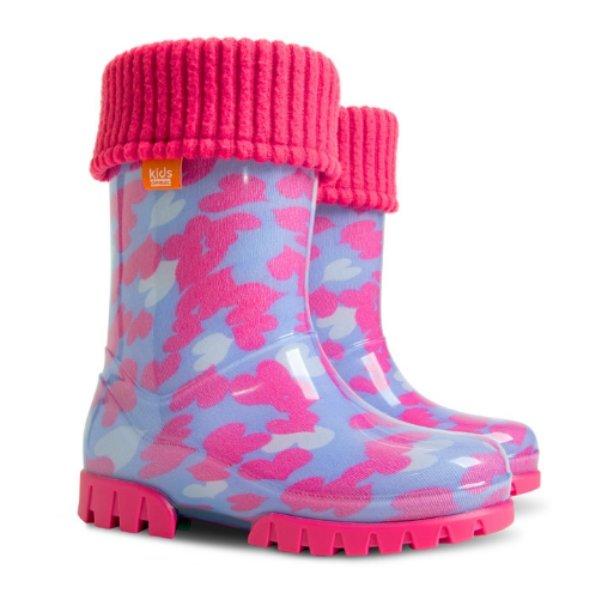 Дитячі гумові чоботи Демар Twister Lux Print 0039 C для дівчаток ... 216a022136134