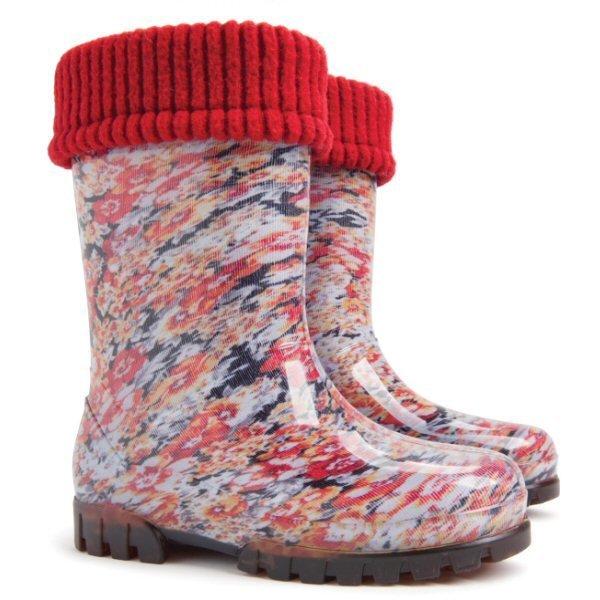 Дитячі гумові чоботи Демар Twister Lux Print 0039 P для дівчаток ... ee0896770ef04