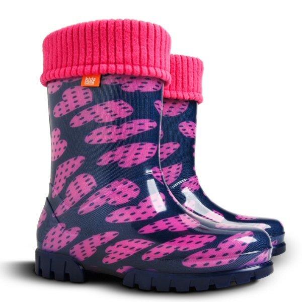 746107d02ee26d Дитячі гумові чобітки для дівчаток Демар 0038 V купити в Києві в інтернет  магазині demar.kiev.ua